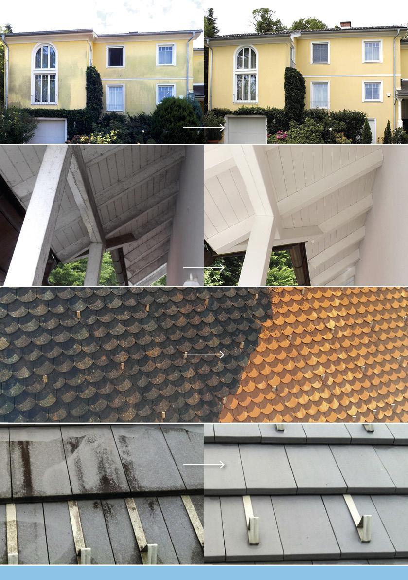 Referenzen Haus Fassade und Dach